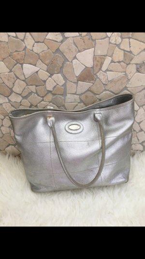 Furla Tasche Leder Silber
