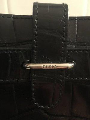 Furla Tasche originell schwarz
