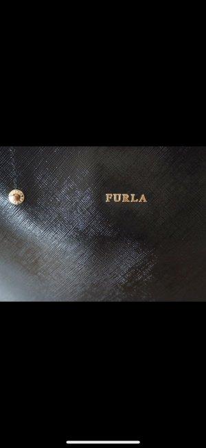 Furla Buideltas zwart Leer