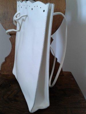 Furla, weiße Ledertasche für Frühjahr/Sommer
