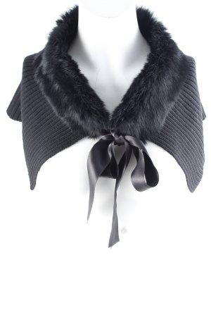 Furla Wollschal schwarz Elegant