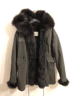Pelt Jacket taupe-dark green