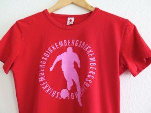 Fussball-T-Shirt Bikkembergs, Gr. L
