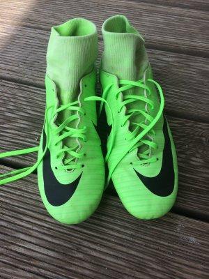 Nike Basket à lacet vert fluo
