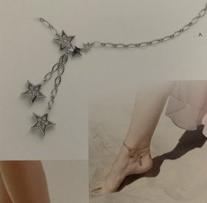 Pierre Lang Anklet silver-colored-white