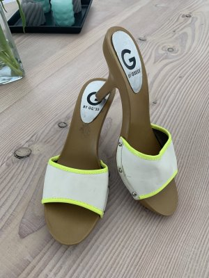 Guess Heel Pantolettes multicolored