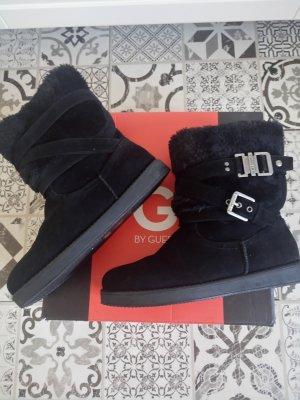 Guess Winter boots zwart Suede