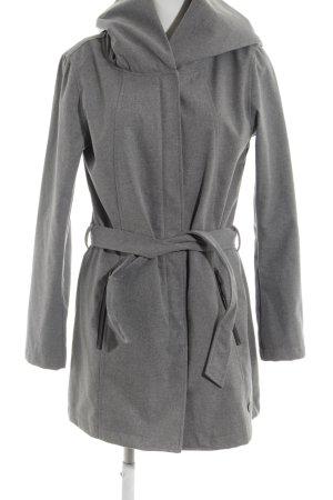 G.i.g.a. dx Manteau à capuche gris moucheté style athlétique