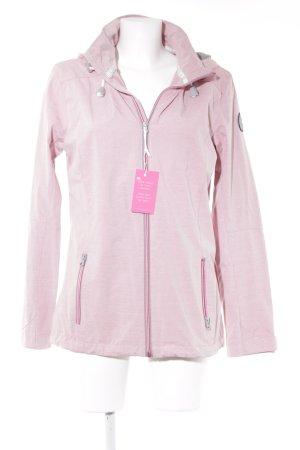 G.i.g.a. dx Sportjacke rosa-hellrosa meliert sportlicher Stil
