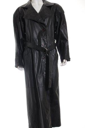 G-III Ledermantel schwarz Vintage-Artikel