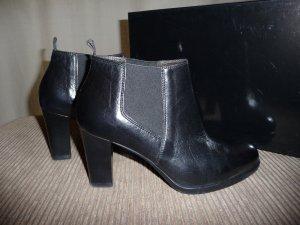 G.K.M. Chelsea laarzen zwart Leer