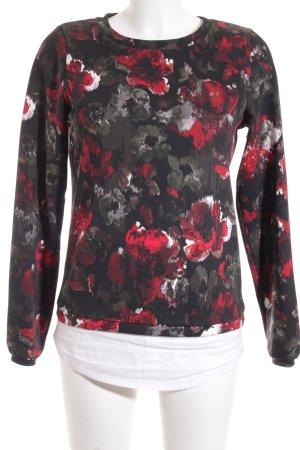 G!na Sweatshirt florales Muster 2in1-Optik