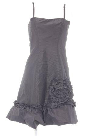 G.O.L. Abendkleid schwarzbraun-schwarz Streifenmuster Elegant