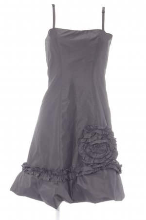 G.O.L. Evening Dress black brown-black striped pattern elegant