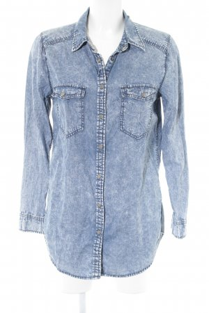 g perfect jeans Jeansbluse blau Casual-Look