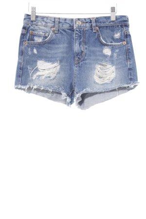 g perfect jeans Jeansshorts kornblumenblau Casual-Look