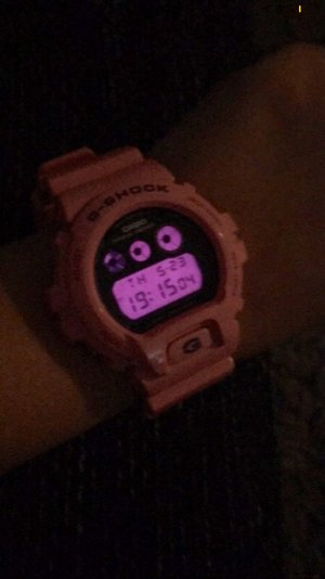 Casio Digital Watch pink-pink