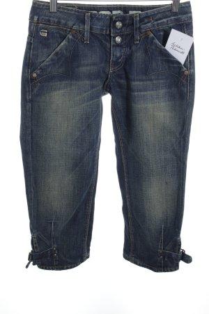 G-Star 3/4 Jeans blau Street-Fashion-Look
