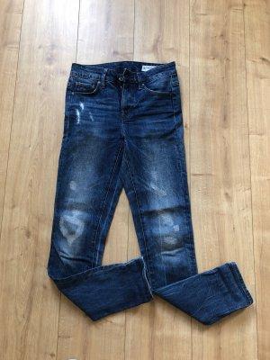 G-Star Hoge taille jeans blauw