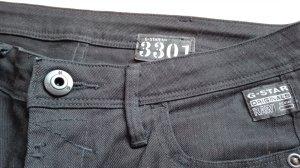 G-Star 3301Jeans schwarz