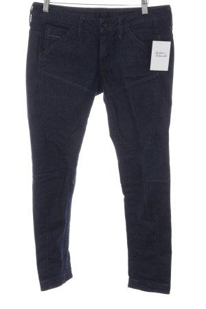 G-Star 7/8 Jeans dunkelblau Casual-Look