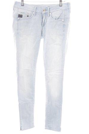G-Star 7/8 Jeans hellblau Casual-Look