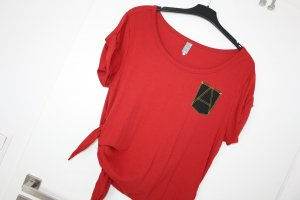 G-Star Raw Top extra-large rouge coton