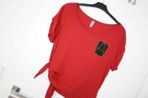 G-Star Raw Camicia oversize rosso Cotone