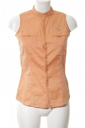 G-Star Mouwloze blouse licht Oranje casual uitstraling