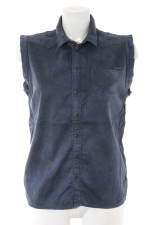 G-Star ärmellose Bluse blau Casual-Look