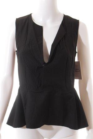 G-Star ärmellose Bluse schwarz klassischer Stil
