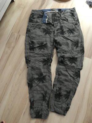 Gstar Boyfriend Trousers khaki-dark grey