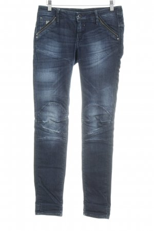 G-Star Baggy Jeans dark blue flecked casual look