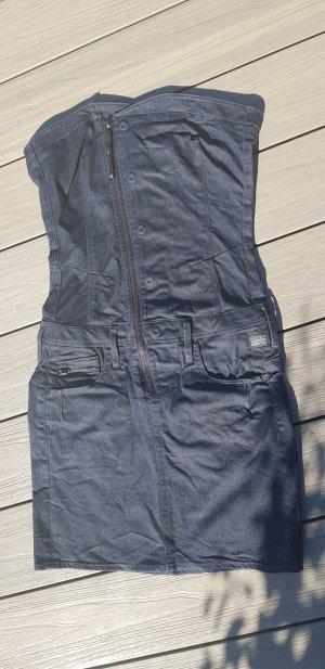 G-Star Jeansjurk blauw