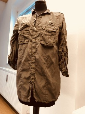 G-Star Baumwoll/Seiden Bluse Hemd