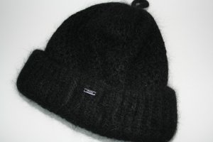 G-Star Raw Beanie black mixture fibre