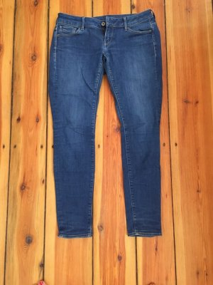 G-Star Blue Jeans Skinny W 31 L 32 Damen 3301 Raw