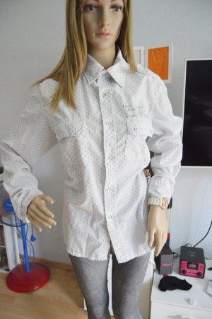 G-Star Bluse Hemd Pünktchen XL