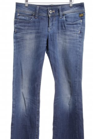 G-Star Boot Cut Jeans dunkelblau Casual-Look