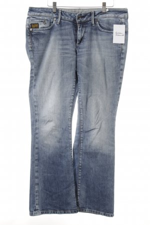 G-Star Boot Cut Jeans himmelblau Used-Optik