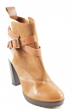 G-Star Booties cream-camel classic style