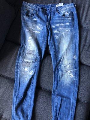 G-Star Boyfriend jeans azuur-blauw