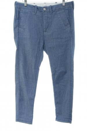 G-Star Pantalone boyfriend blu-turchese puntinato stile casual
