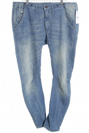 G-Star Boyfriendjeans blau Used-Optik