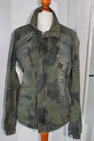 G STAR Camouflage Jacke