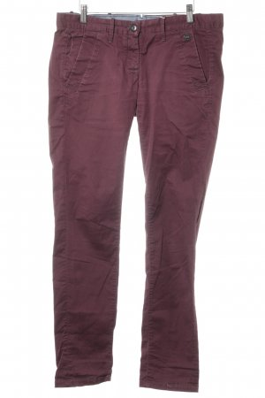 G-Star Chinohose bordeauxrot Casual-Look