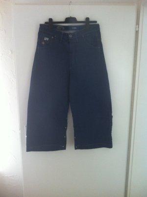 Gstar 7/8 Length Jeans dark blue cotton