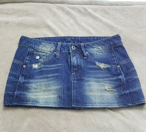 G Star destroyed mini jeans Rock