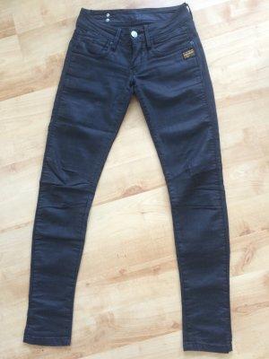 G-Star Fender Skinny WMN Jeans grauschwarz
