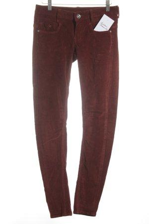 G-Star Pantalone cinque tasche bordeaux stile semplice